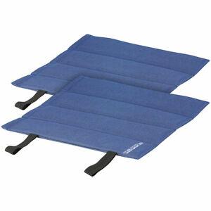 Sitzunterlage: Faltbares Iso-Sitzkissen, ideal für draußen & auf Reisen, 2er-Set