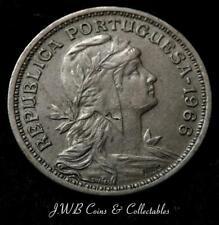 Moneda de 50 centavos 1966 Portugal