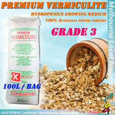 Exfoliators 100L Premium Vermiculite Grade 3 Media Hydroponics Growing Medium