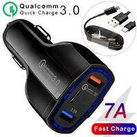 Fast Charge Car Charger + Cable for Samsung Galaxy S21 S21+ S21 Ultra Z Fold2 5G