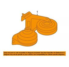 NEW 2006-2012 FUSION MILAN MKZ OEM HORN ASSEMBLY #7E5Z-13832-A