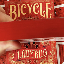 Bicycle Gilded Limited Edition Ladybug (Red) Playing Cards - LIMITED EDITION