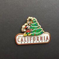DLR - Disney's California Adventure - Mickey Decorating Tree Disney Pin 65977