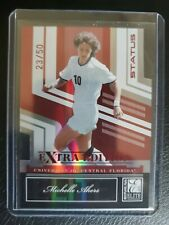 2007 DONRUSS ELITE MICHELLE AKERS RED STATUS CARD #89 23/50  OLYMPIC SOCCER RARE