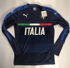 Italy Italia 2016-2017 Puma Soccer Long Sleeve Training Shirt Size Medium New