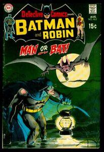 DC Comics DETECTIVE Comics #402 BATMAN And ROBIN 2nd MAN-BAT VG/FN 5.0