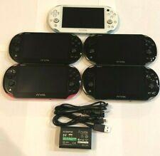 Lime Green White Black Sony Playstation Ps Vita 2000 Slim Pch-2000 Bundle Import