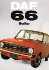 CATALOGO ORIGINALE DAF 66 BERLINE - FRANCESE - 16 PAGINE - 230