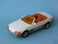 Matchbox Mercedes-Benz 500 SL with White Body Sports Car Convertible