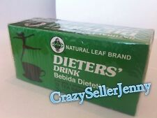10 BOXES Of Dieters Drink Bebida Dietetica Dieters Tea herbal tea for slimming