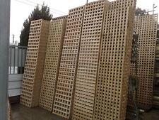 Treated Pine Lattice 1800x900  60mm Opening Holes Trellis Square Screen