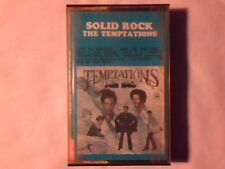 TEMPTATIONS Solid rock mc cassette k7 ITALY MAI SUONATA RARA UNPLAYED VERY RARE!