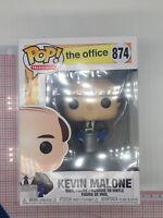 Funko Pop! The Office Kevin Malone Vinyl Figure #874 NOT MINT BOX K02