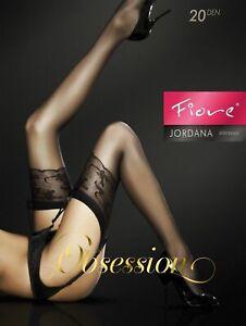 Fiore Jordana - sexy Strapsstrümpfe, Stockings, 20 den