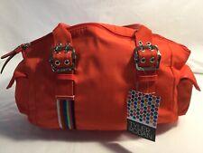 Tyler Rodan Handbag Double Handle Shoulder Bag Purse Oxford Satchel Red NWT