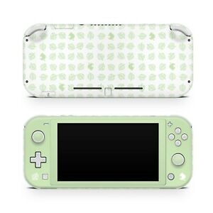 Nintendo Switch Lite skin, Pastel Green Leaf switch lite skin, Leaves switch 3m
