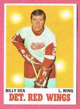 1970-71 70-71 O-PEE-CHEE OPC #30 Billy Dea SET BREAK