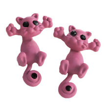Cute Pink Cat Earrings, Teen Gifts, Gifts for Her, Friend Gifts, Sister Gifts