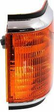 Turn Signal Lamp Light Blinker Lens/Housing Driver Side Left LH BLACK & CHROME