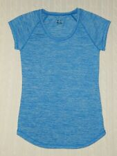 Z by Zella ― Womens Xs ― Marled Blue Scoop Neck Athletic Shirt Top #Z467 *mint*
