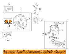 GM OEM-Power Brake Booster Grommet 20903152