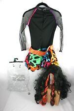 Monster High Girls Halloween Costume Skelita Calaveras Size Medium Kids Cosplay
