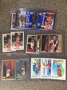 Vintage Michael Jordan 19 Card Lot Fleer Metal Hoops Skybox Upperdeck
