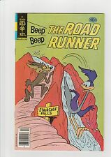 Beep Beep the Roadrunner #86 VF+ 1979 Whitman Comic Warner Bros. Waterfall