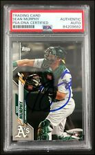 SEAN MURPHY AUTOGRAPHED AUTO 2020 TOPPS #317 BASEBALL ROOKIE RC CARD PSA/DNA