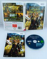 Jeu LE SEIGNEUR DES ANNEAUX LA QUETE D'ARAGORN pour Nintendo Wii PAL (CD à neuf)
