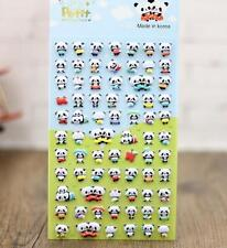 Korea Design Lovely Panda Bubble Stickers for Diary Children Kids Reward Toys