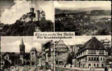 DDR Landpoststempel Wenigenlupnitz über Eisenach auf AK 1960 Mehrbildkarte gel.