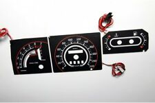 Ford Escort MK4 Turbo Version glow gauge plasma dials tachoscheibe glow shift in