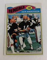 1977 Ken Anderson # 235 Cincinnati Bengals Topps NFL Football Card QB
