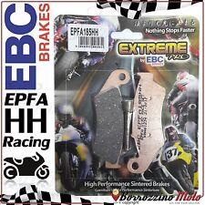 PASTIGLIE FRENO ANTERIORE RACING EBC EPFA185HH YAMAHA WR F 400 1999-2000