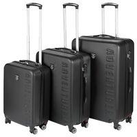 3 PCS Hardcase Suitcase ABS Quality Designer Travel Lightweight Luggage TSA Lock