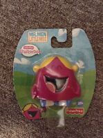 New Fisher Price Mr. Men Little Miss Little Miss Chatterbox Figure