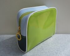 ESTEE LAUDER Patent Green Makeup Cosmetics Bag, Brand NEW!