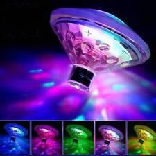 RGB LED Swimming Pool Lights Floating Pond Underwater Disco Hot Tub Spa Lamp