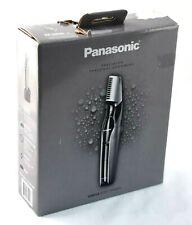 Panasonic ER-GK60-S Precision Electric Body Hair Wet/Dry Trimmer Black/Silver