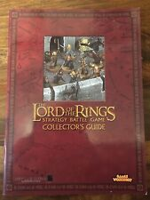 Lord of The Rings Strategy & collectors guide book Red LOTR Games Workshop OOP