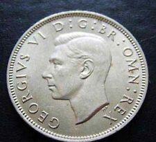 1950 GEORGIVS VI D.BR:OMN:REX George VI British 2 Shillings