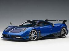 AUTOart Pagani Huayra BC 1:18 Model Car 78277 Blue Francia Carbon