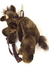 Child's Backpack Plush Horse