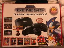 SEGA GENESIS CLASSIC GAME CONSOLE (2016 Version) ATGAMES - 80 Built In Games