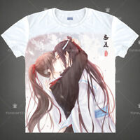 Grandmaster of Demonic Cultivation Unisex White T-shirt Short Sleeve Tops TEE#02