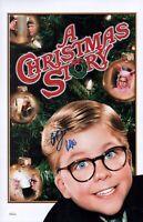 PETER BILLINGSLEY Signed 11x17 A CHRISTMAS STORY Photo WITNESS Autograph JSA COA