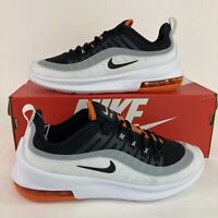 New Nike Air Max Axis Men's Size 7 Black White Orange Running Low Athletic Shoes