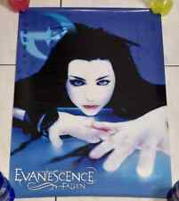 Evanescence Amy Lee 2003 Fallen Sony Music Taiwan Limited Edition Promo Poster