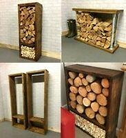 Log Store Log Basket Holder Wood Log Rack  Hand Made to Order Only £9.99 DEPOSIT